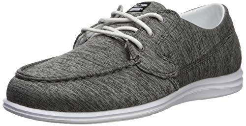 Brunswick Ladies Karma Bowling Shoes- Grey/White, 7.5