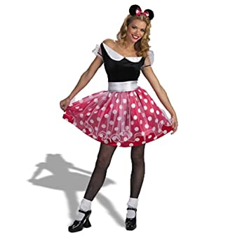 c3f159a8079 Amazon.com  Minnie Mouse Adult Costume  Clothing