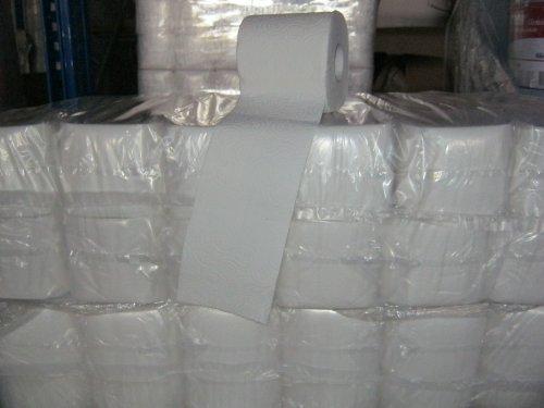 Toilettenpapier 3- lagig, weiß, 250 Blatt 48 Rollen, WC- Papier, Kleinrollen