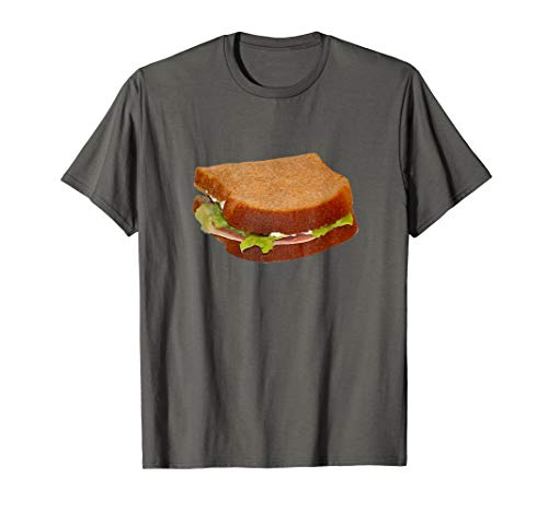 Sandwich Whole Wheat Turkey Ham Lunch t-shirt