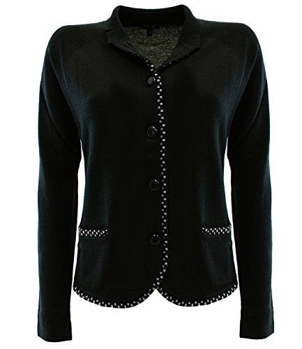Armani Jeans - Camiseta de manga larga - para mujer negro