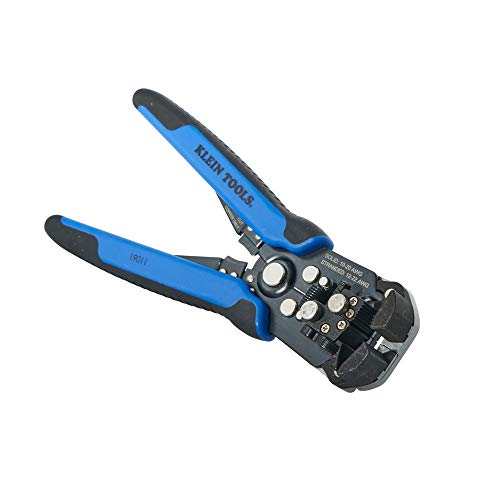 Self-Adjusting Wire Stripper and Cutter, 10-20 AWG Klein Tools 11061 (Best Automatic Wire Stripping Tool)
