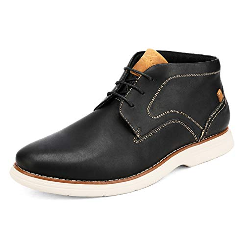Bruno Marc Men's Chukka Dress Boots Leather Oxford Ankle Boot