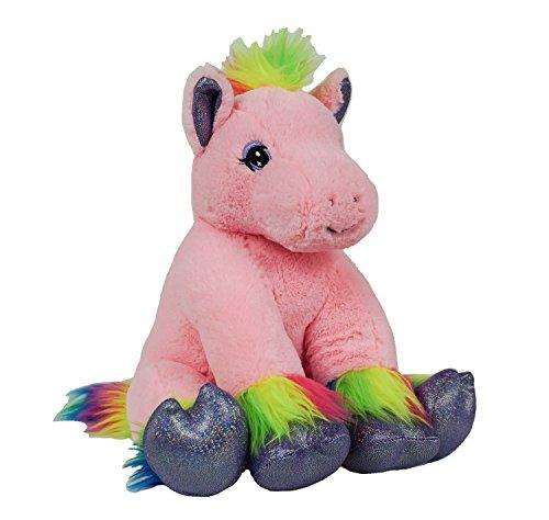 BEARegards Recordable Rainbow Pony with 20 second digital recorder -