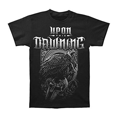 Upon This Dawning Men's Crow Helmet T-shirt Medium Black