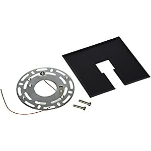 Progress Lighting P8753-31 Traditional Canopy Kit Flush Mount from Track Accessories Collection in Black Finish, 0.4 Lbs