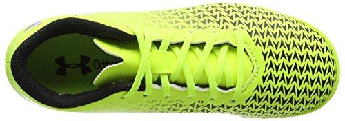 Under Armour Unisex-Kinder UA CF Force 3.0 TF Jr Fußballschuhe Gelb (High-Vis Yellow)