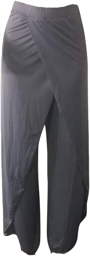 Amazon.com : ChYoung Pantalon de Yoga en Coton à Jambe Large ...
