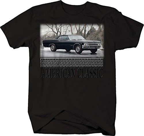Chevy Impala Coupe (American Classic Chevy Impala Coupe Convertible Super Sport Tshirt - 2XL)