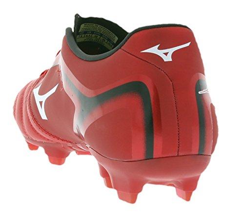 Mizuno Basara 001 KL Mens Scarpe da calcio Red P1GA156201, Size:43