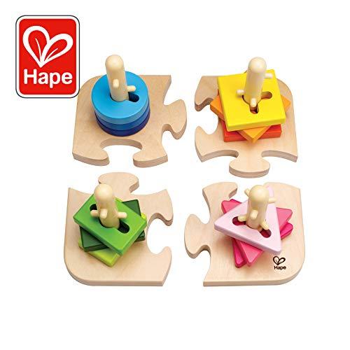 Peg Puzzles Toys - Hape Creative Toddler Wooden Peg Puzzle