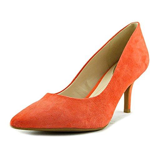 Alfani Womens Jeules Leather Pointed Toe Classic Pumps, Sunstone1055276, 7.5