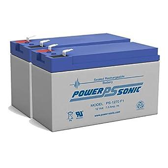 Amazon.com: Batería de repuesto de 12 V 7 Ah para pala Toro ...