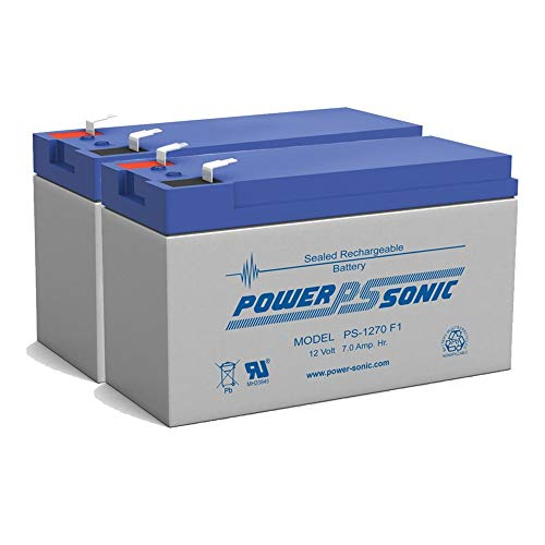 - Powersonic PS1270F1 Replacement Rhino Battery - 2 Pack
