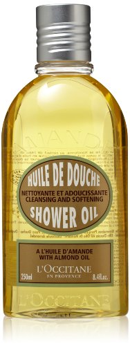 L'Occitane Huile de Douche d'Amande (Shower Oil, Almond), 8.4-Ounce Bottle