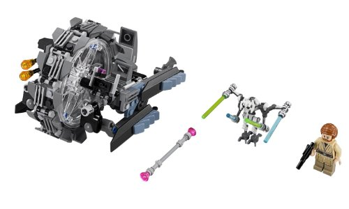 LEGO Star Wars 75040 General Grievous' Wheel Bike (Discontinued by manufacturer) (Lego Star Wars Double Sets)