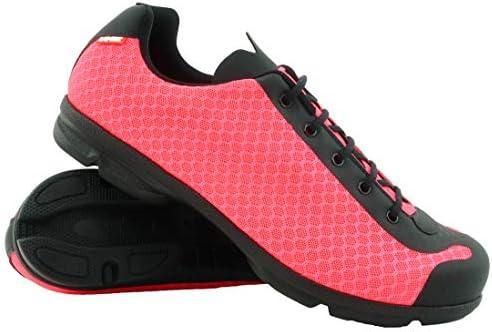 LUCK Zapatillas de Ciclismo Jupiter, Ideal para la práctica de Distintas disciplinas Gracias a su Suela de EVA, construida en una Sola Pieza de Micro Fibras súper Transpirables. (37 EU, Fucsia): Amazon.es: