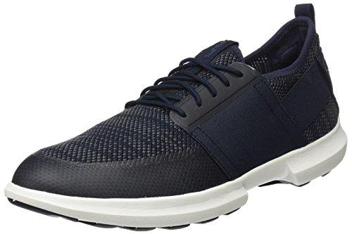 Geox Men's TRACCIA 9 Sneaker, Navy, 45 M EU (12 US)