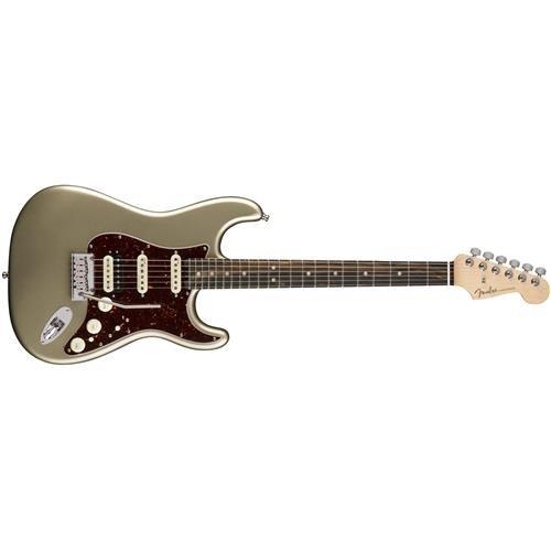 Fender American Elite Stratocaster HSS Shawbucker Electric Guitar with Ebony Fingerboard - Champagne Ebony