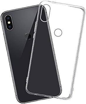 Funda Xiaomi Redmi Note 5/Note 5 Pro, Carcasa TPU Funda Anti-Rasguño Anti-Golpes Cover Protectora TPU Caso Bumper Slim Silicona Case Para Redmi Note 5 Pro Protectora Funda: Amazon.es: Electrónica