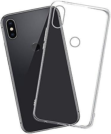 Cover xiaomi Redmi Note 5 Pro, Lanseed Silicone Cristallo Molle TPU Trasparente Cover Case Per Xiaomi Redmi Note 5 Pro