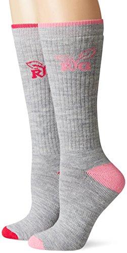 Realtree Girl Ultra-Dri Ladies Tall Boot Socks Pack (2 Pair), Fuchsia, Medium