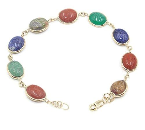 Sophia Fine Jewelry Scarab Multi-Color 7