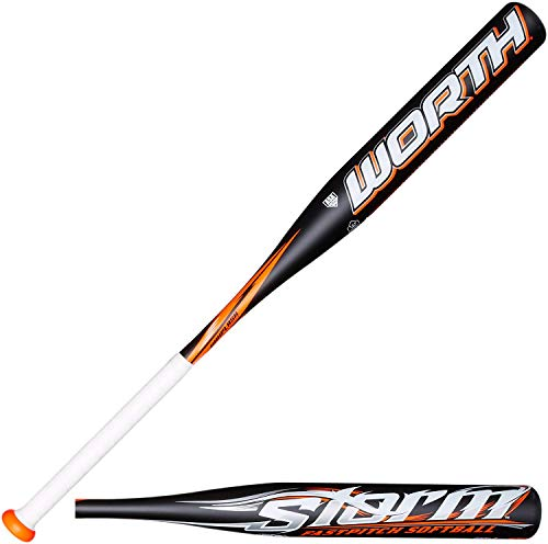 Worth Storm Hyperlite Fast Pitch Bat, 32-Inch/19-Ounce