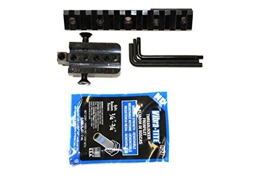 BadAce All Steel Picatinny Scope Rail for M1 / M14 / M1A (Best Scope Mount For M1 Garand)