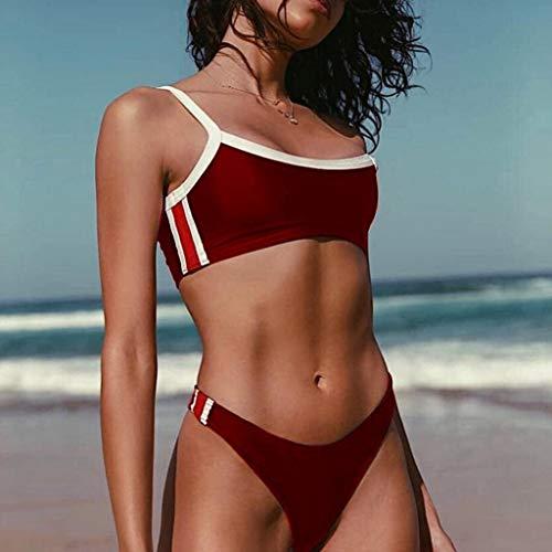 In Spaccato Bagno Intimo Di Poliestere Sexy Msndian Da Bikini Americano Blu Nero Rosso Elasticità Per 2 Europeo Costume Passione Set Alta Rosso E Sexy tXSwX4q