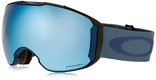 Oakley Men's Airbrake XL Snow Goggles, Blue Shade, Prizm Sapphire Iridium, - Shades Oakley 2016