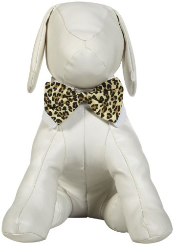 Isaac Mizrahi Leopard Collection Bowtie - Medium