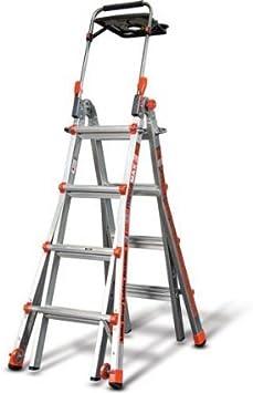Little Giant Megamax 17 Escalera W/Air Deck: Amazon.es: Bricolaje y herramientas