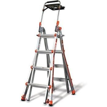 Little Giant Megamax 17 Ladder W Air Deck Amazon Com