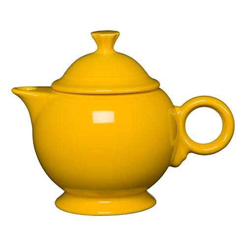 Homer Laughlin 496-342 44 oz Covered Teapot, Daffodil