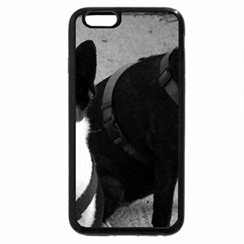 iPhone 6S Plus Case, iPhone 6 Plus Case (Black & White) - double colored