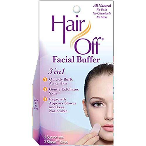 (Hair Off Facial Buffer, 1 kit (Pack of)