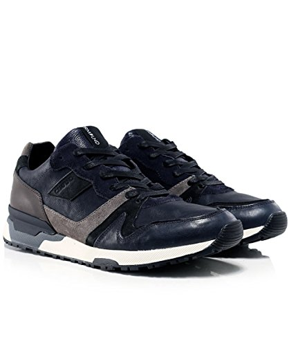 Crime London Uomo Escape Sneaker Blu Blu