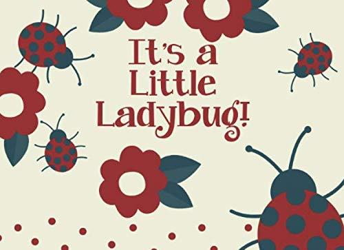 It's A Little Ladybug: Ladybug Baby Shower Guest Book with Bonus Gift Log