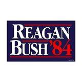 reagan bush decal - CafePress - Reagan Bush '84 Campaign - Rectangle Bumper Sticker Car Decal