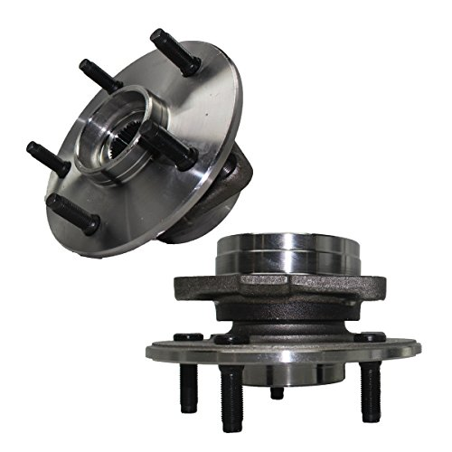 Detroit Axle Front Wheel Hub and Bearing Assembly - Driver and Passenger Side fits 4x4 Only 2000-2001 Dodge Ram 1500 [NO ABS on HUB]