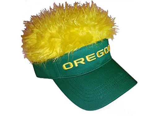 NCAA Oregon Ducks Flair Hair Visor, Green, One Size ()