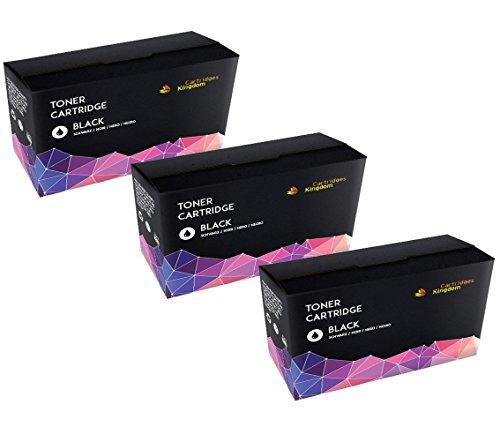 3-PACK Cartridges Kingdom Compatible Toner Cartridges Replacement for CF283A 83A - ()