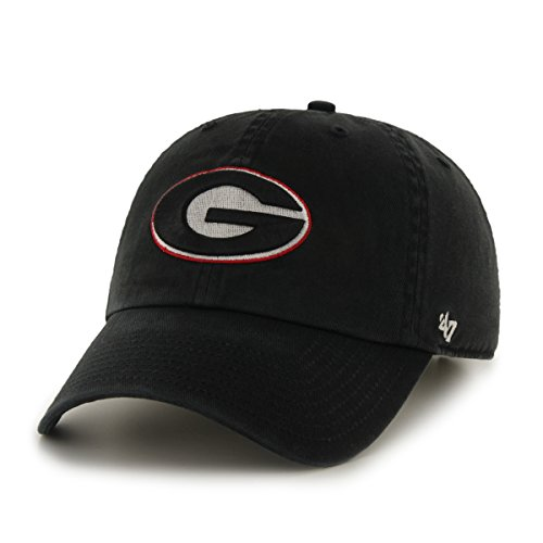 NCAA Georgia Bulldogs '47 Clean Up Adjustable Hat, Black, One Size (Georgia Bulldog Hats Fitted Men compare prices)