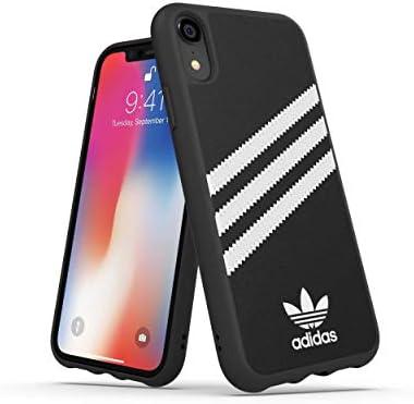 Adidas Handyhülle Entwickelt Für Iphone Xr Hülle Fallgeprüfte Hüllen Stoßfeste Erhöhte Kanten Original Schutzhülle Schwarz Elektronik