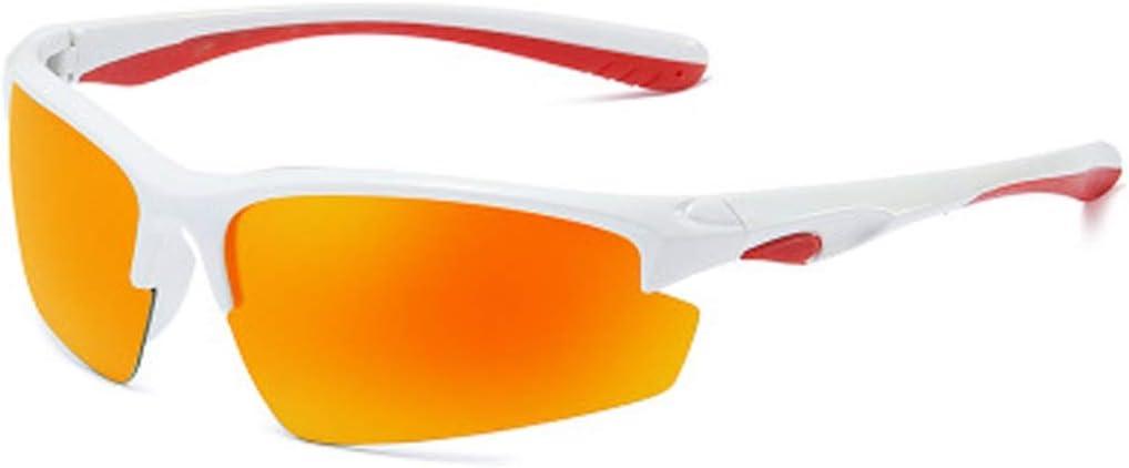 Forme coloridas gafas de sol polarizadas para deportes, 8512 gafas de ciclismo para exteriores, lentes TAC resistentes a la radiación, protección UV400 gafas de sol contra la tormenta de arena contra