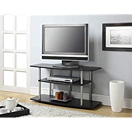 Convenience Concepts Designs2Go 3-Tier Wide TV Sta...
