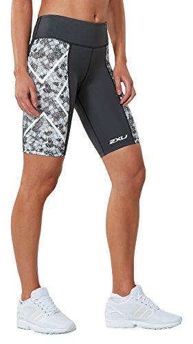 2XU Womens Ptn Mid-Rise Compression Shorts