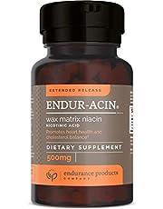 Endur-Acin 500 mg Low-Flushing Extended Release Niacin 100 Tabs, (Packaging May Vary)