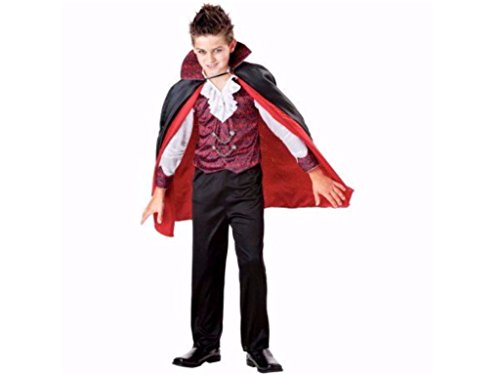 Boys Vampire 3 Piece Halloween Costume Large (2 Piece Vampire Costumes)